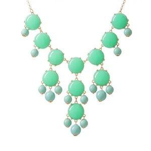 Ily Couture Mint Bauble Necklace